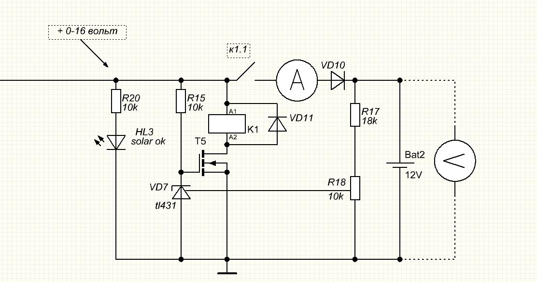 Контроллер заряда солнечный своими руками 36