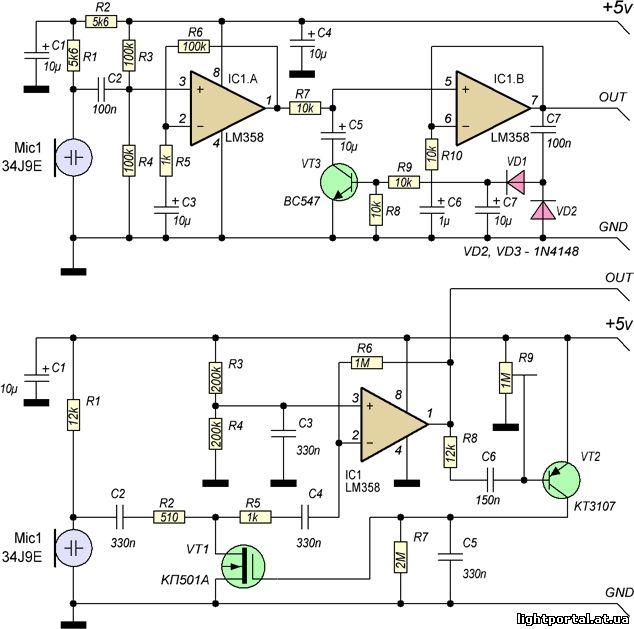 Автоматическая усиления схема