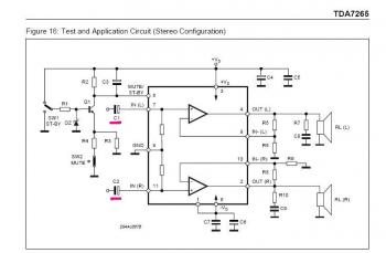 усилитель звука на одном транзисторе ...