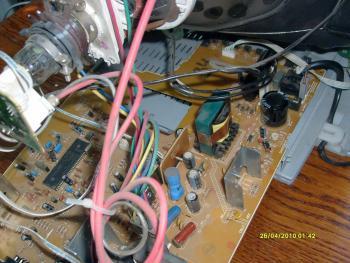 телевизор JVC AV-1400АЕ электросхема