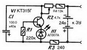 Индикатор окончания заряда аккумулятора на 3.7 вольт