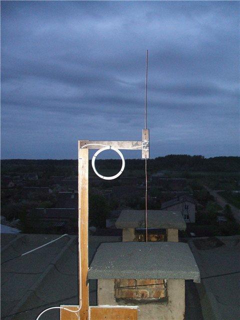 Мощная антенна  для телевизора 185