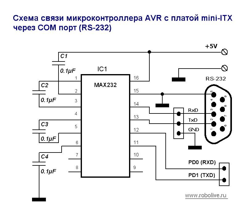 Схема включения a2917seb