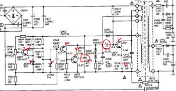 Электроника 316д принципиальная схема Условные обозначения на принципиальных схемах