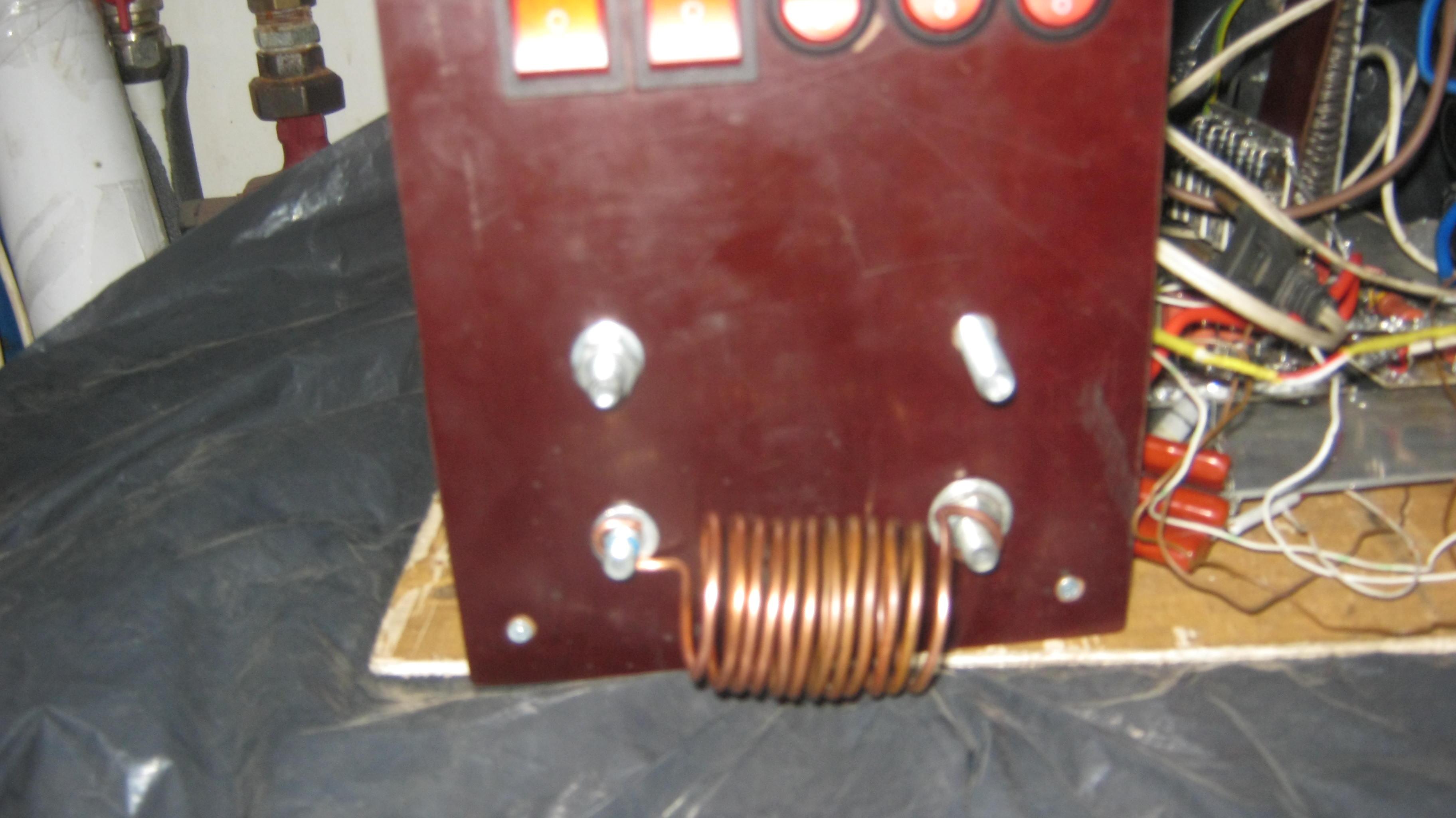 Как сделать индукционный нагреватель из сварочного аппарата