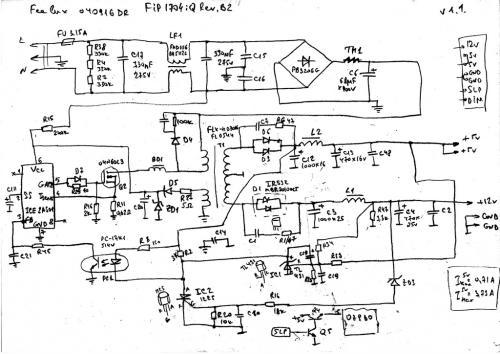 проверка блока питания монитора - Практическая схемотехника.
