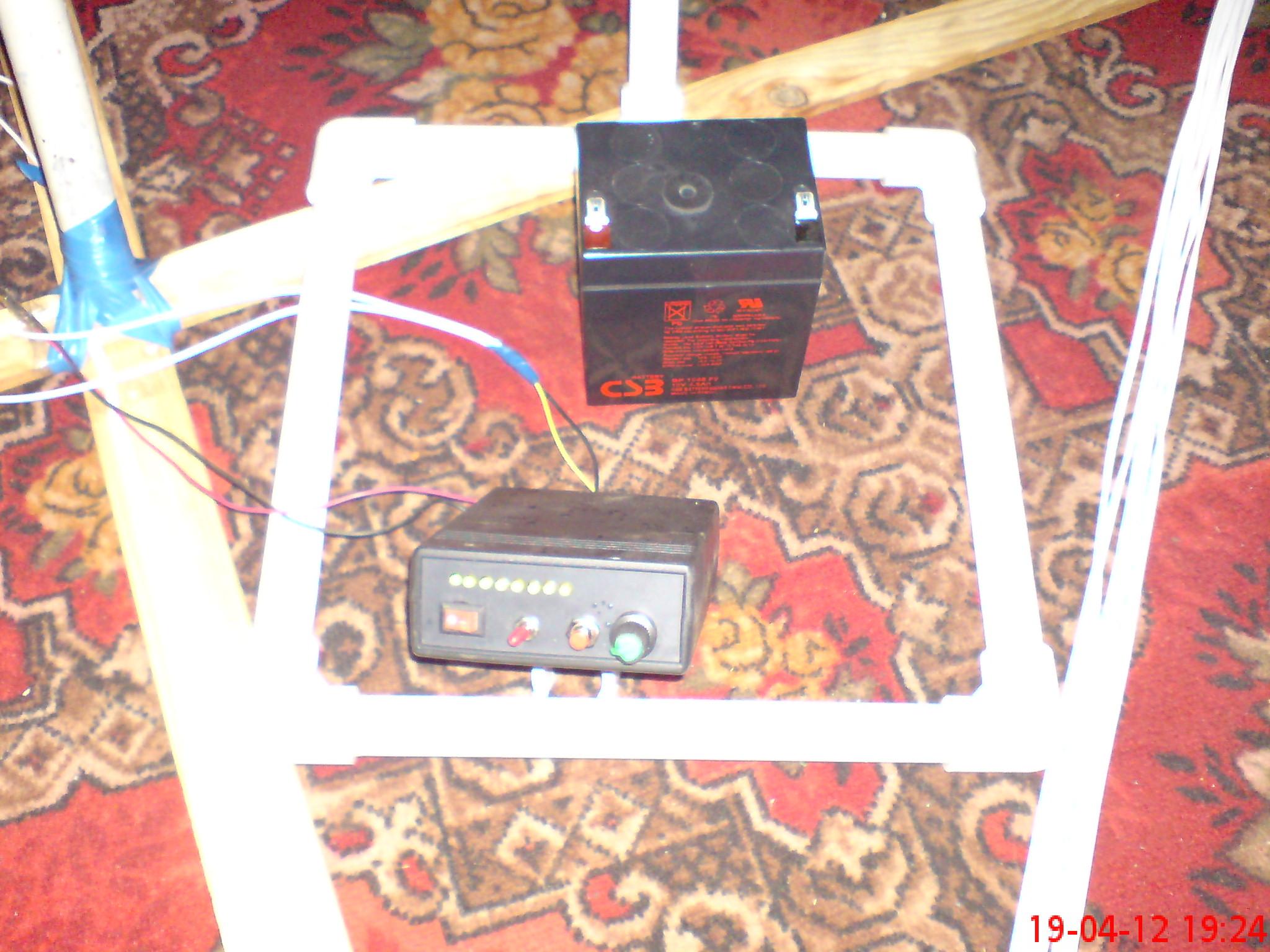 металлодетектор каспер схема