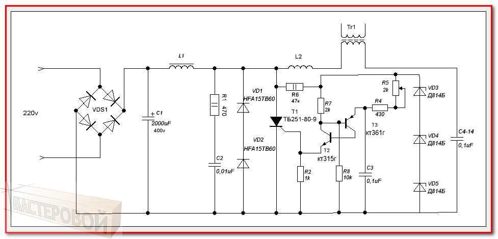Что такое диод, стабилитрон, варикап, тиристор, светодиод