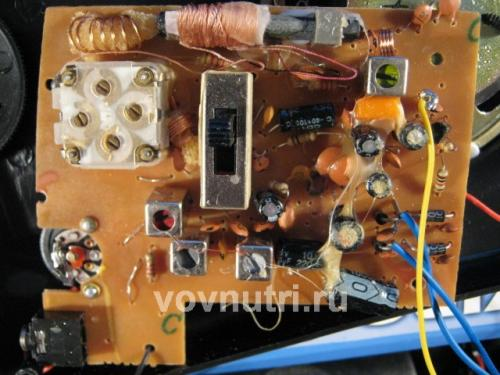 Радиоприемник KB-308 KB-309 Kipo плата верх.
