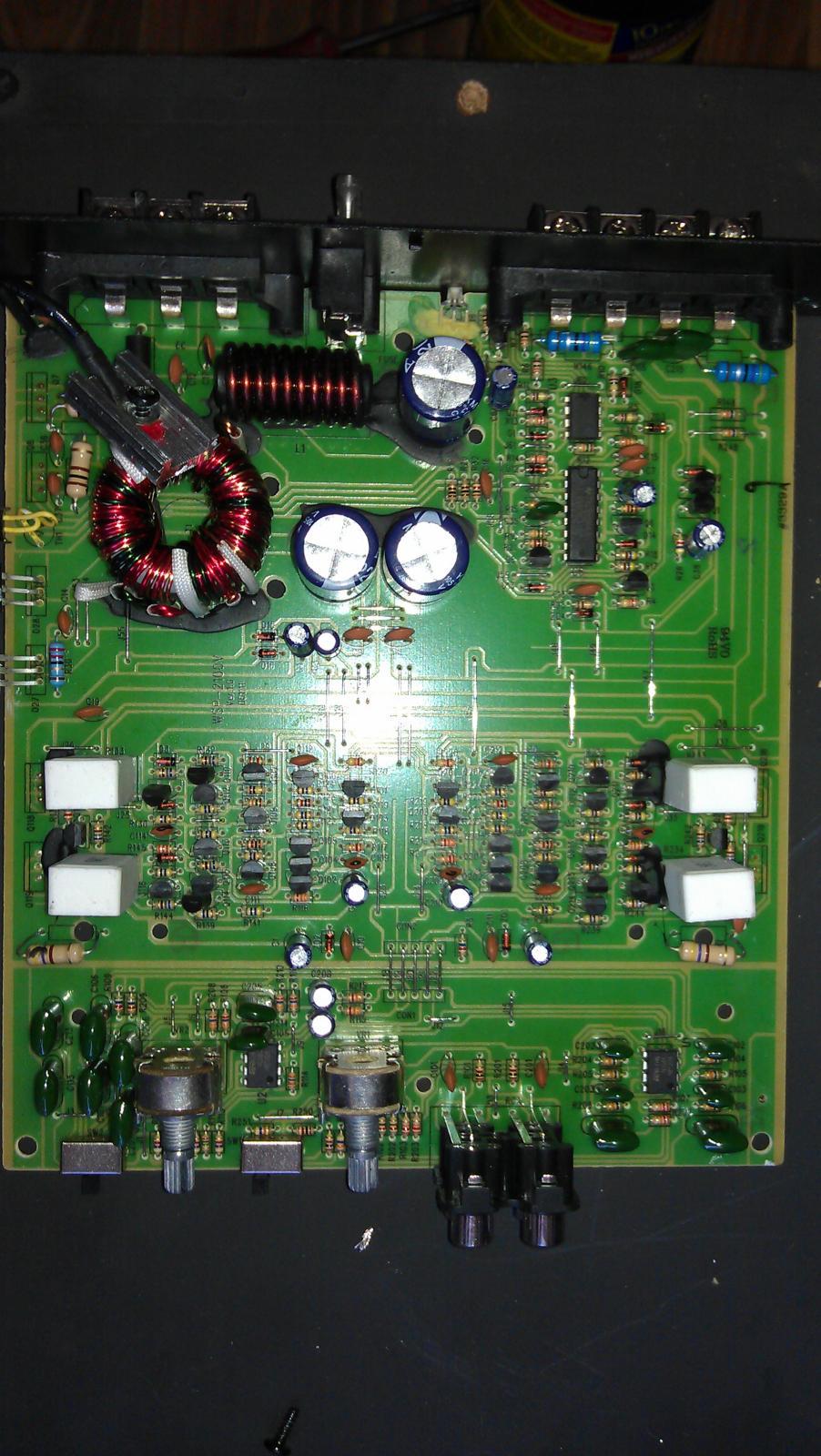 ремонтная инструкция принципиальная схема усилителя электроника 50у 017с
