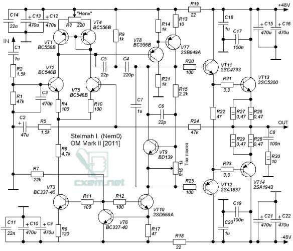 Электрическая схема ваз-2121