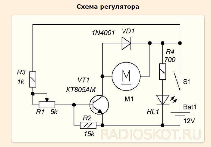 Электронный регулятор оборотов двигателя своими руками - Stels-benelli.RU