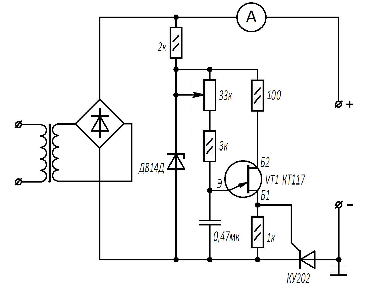 Простой регулятор мощности для зарядного устройства 70