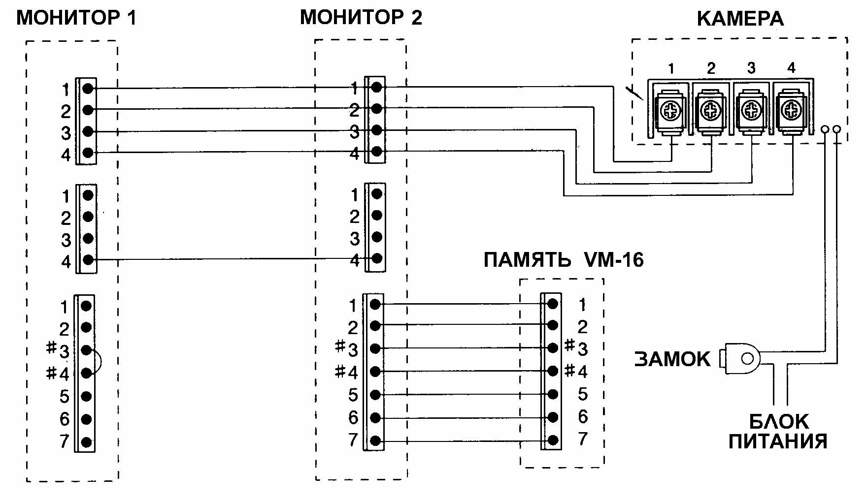 Домофон dpv 4hp схема подключения фото 523