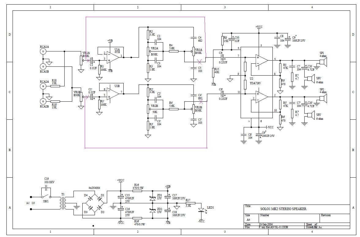 Схема microlab solo-1
