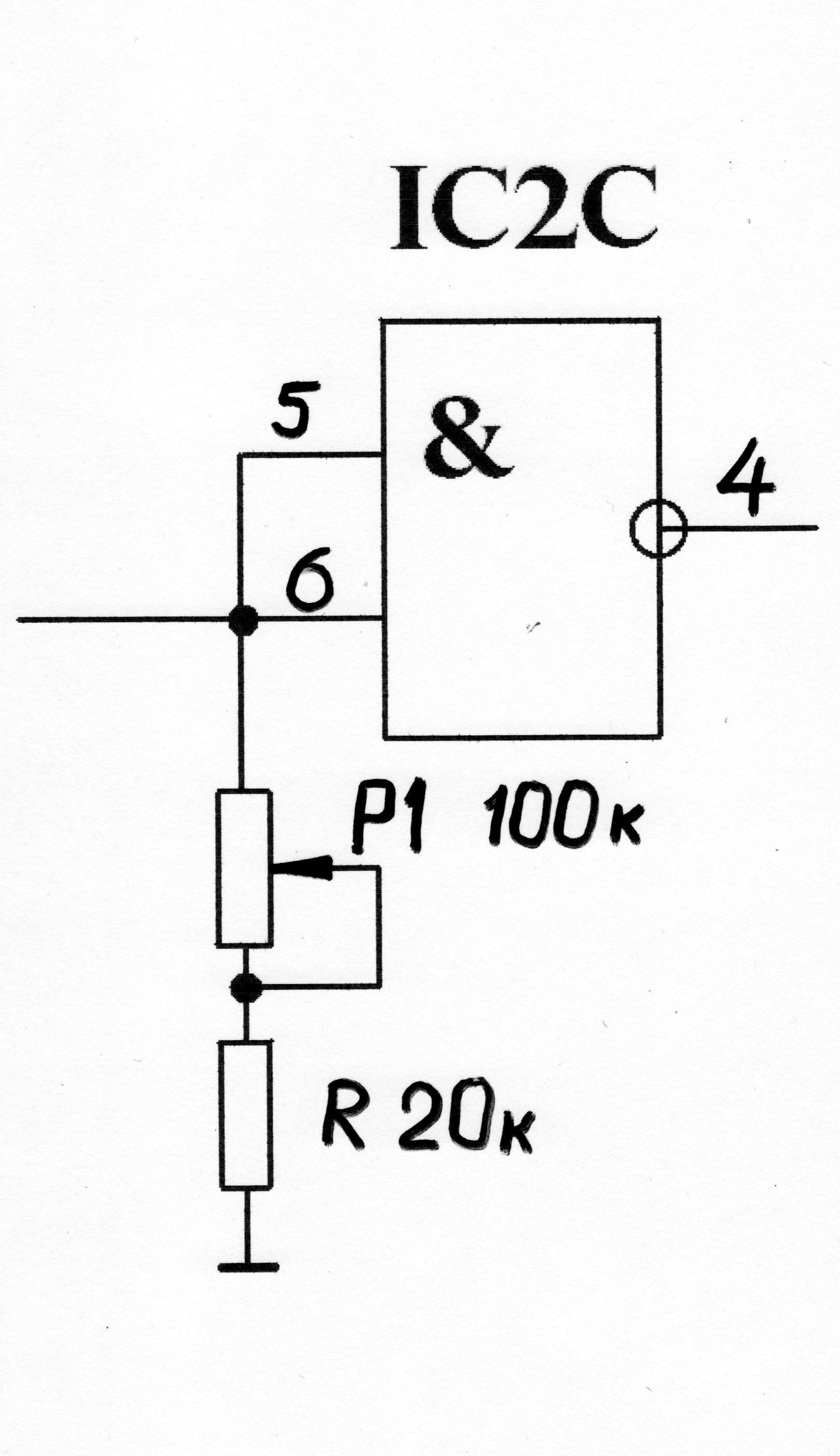 схема глубинного металлоискателя типа передача-прийом