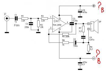 ...мощности на микросхемах TDA2030/TDA2050/LM1875: ЦитатаПростой концептуальный усилитель на МС TDA2050 по схеме ИТУН.