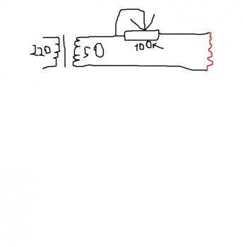 Схема трансформатор для выжигателя по дереву