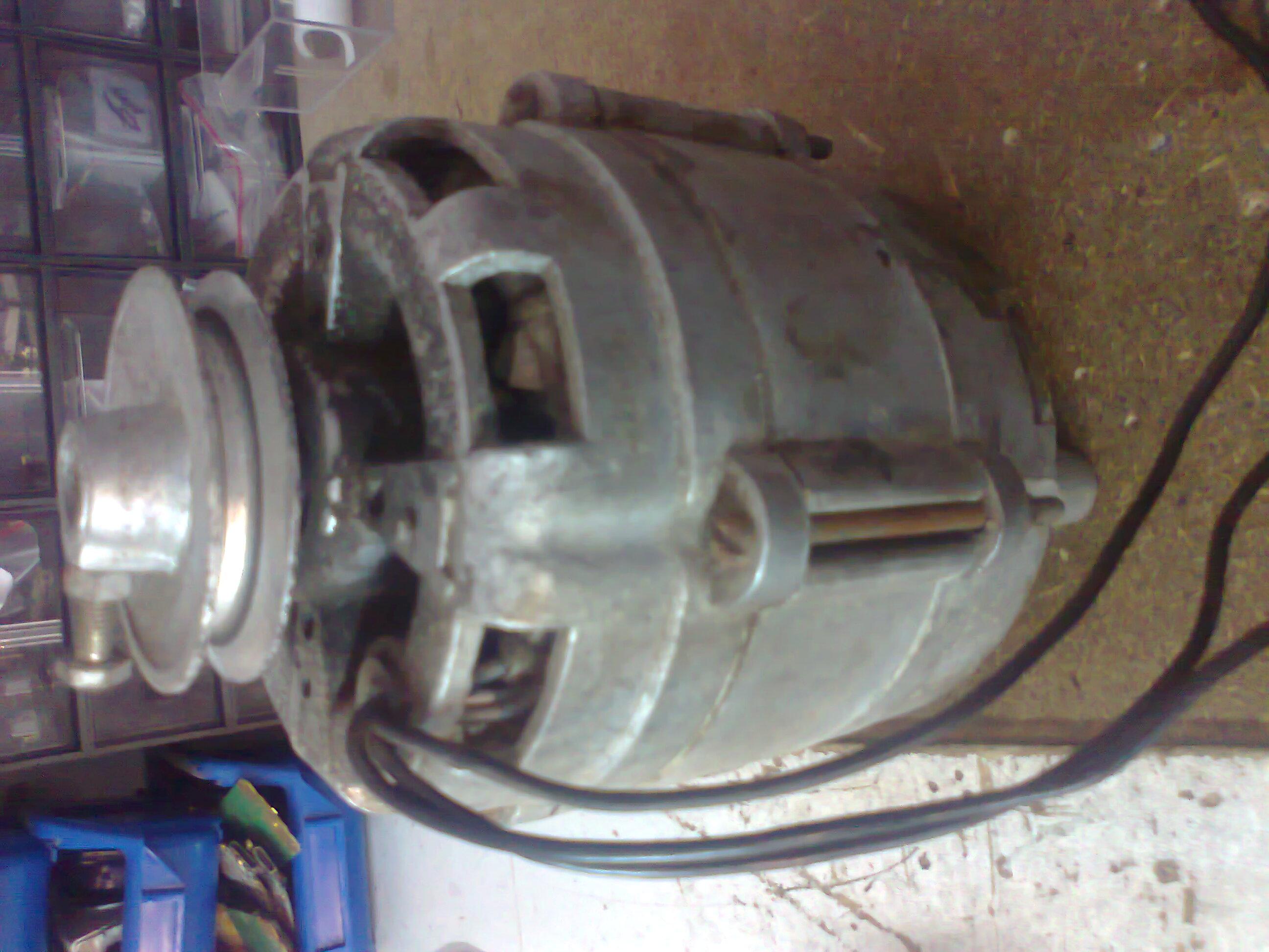 схема включения электродвигателя 220в