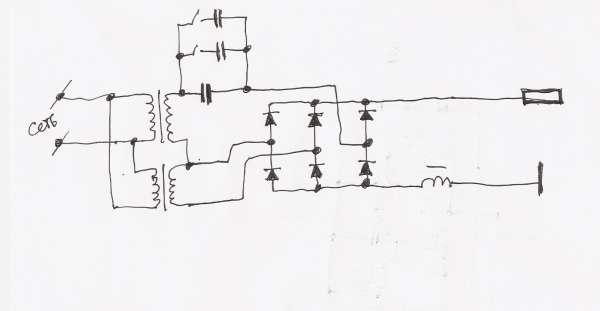 Схема плазмореза своими руками