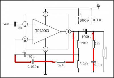 tda2003 схема включения - Лучшие схемы и описания для всех.
