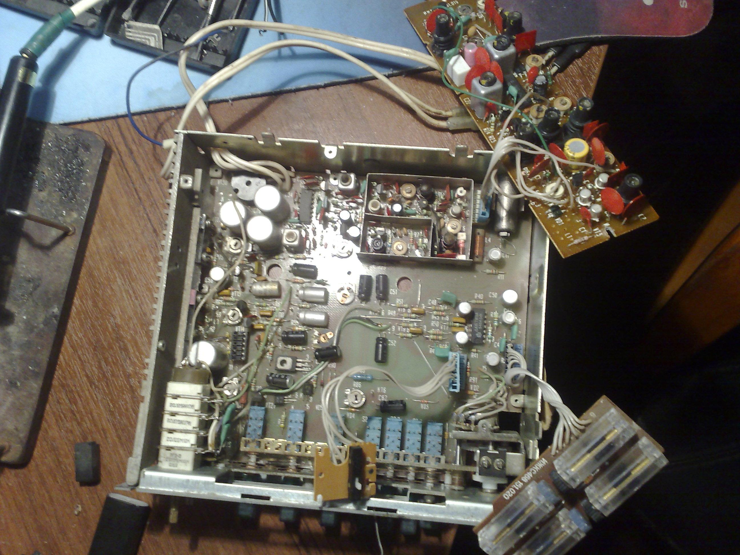 Как сделать из кассетной автомагнитолы 786