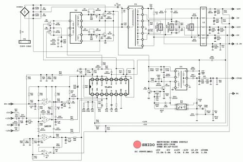 SHIDO ATX-250(TL494,