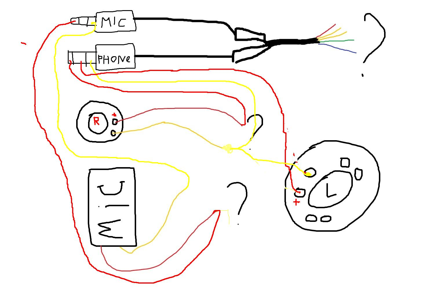 Схема для пайки наушников 81
