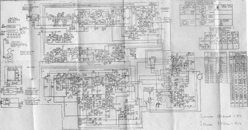 схема телевизора электроника вл-100.