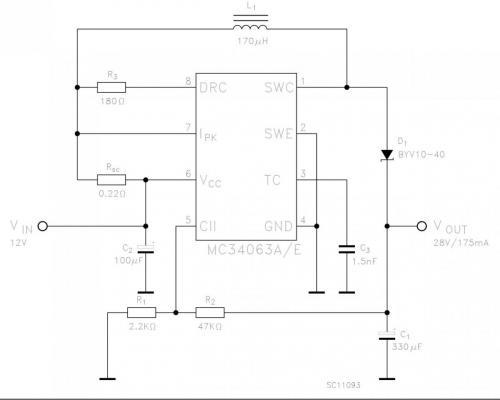 схемы на mc34063a - Практическая схемотехника.