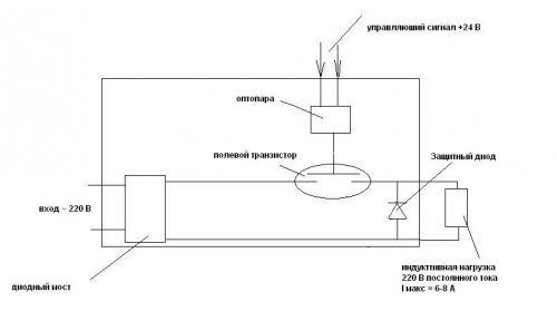 Силовой Ключ На Полевом Транзисторе - опубликовано в Куплю: Нужна схема на полевом транзисторе:- есть управляющий...