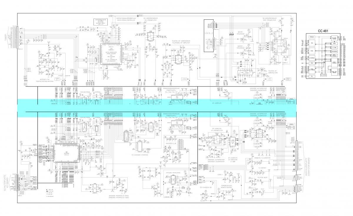 схема выходов автомагнитолы