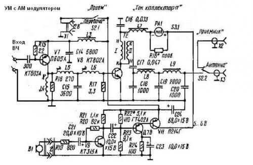 Усилитель QRP мощности на КВ - ra1ohx.ru