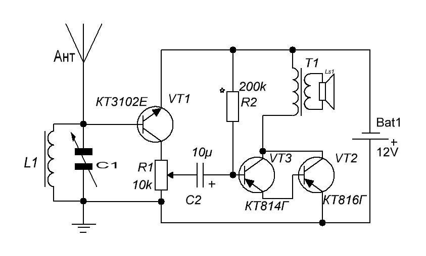 Простейший радиоприемник своими руками fm 19