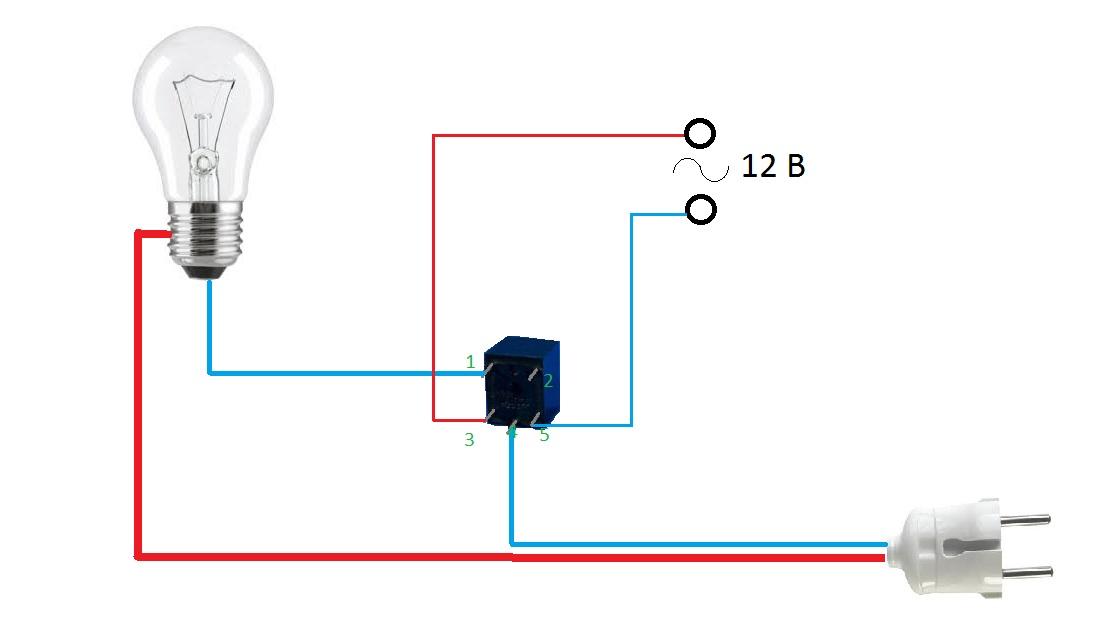 Как сделать реле на лампочку 797