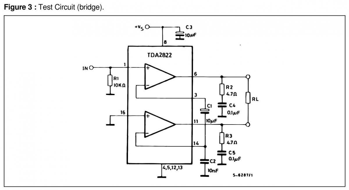 Pam8403 схема мостовая