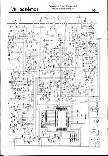 Принципиальная схема mj-3031