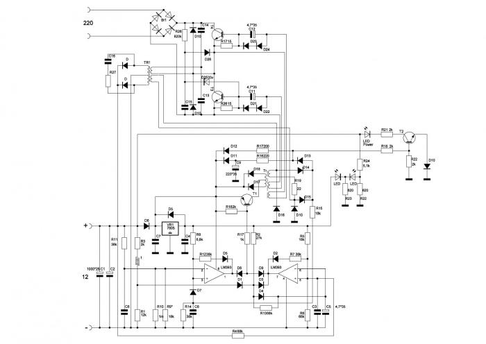Орион усилитель схема