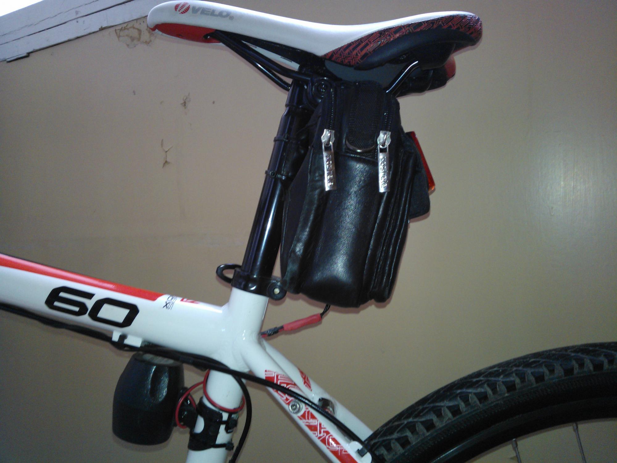 Стоп-сигнал для велосипеда (покупной и изготовленный) 14