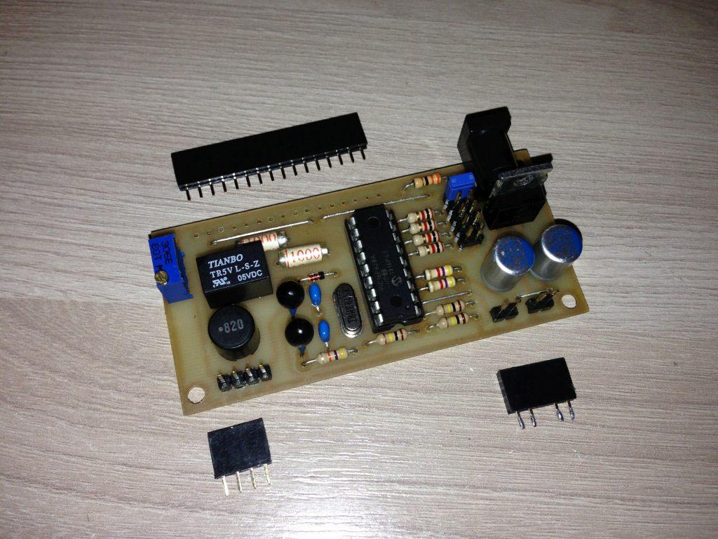 Измеритель емкости конденсаторов своими руками на pic16f628a