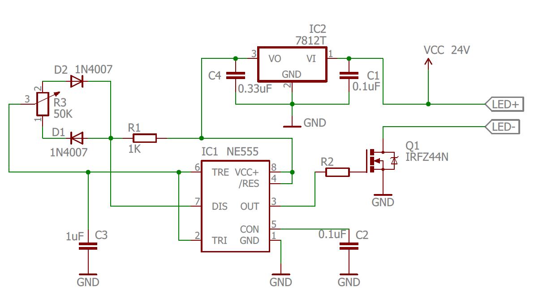 Диммер для светодиодной ленты схема фото 162
