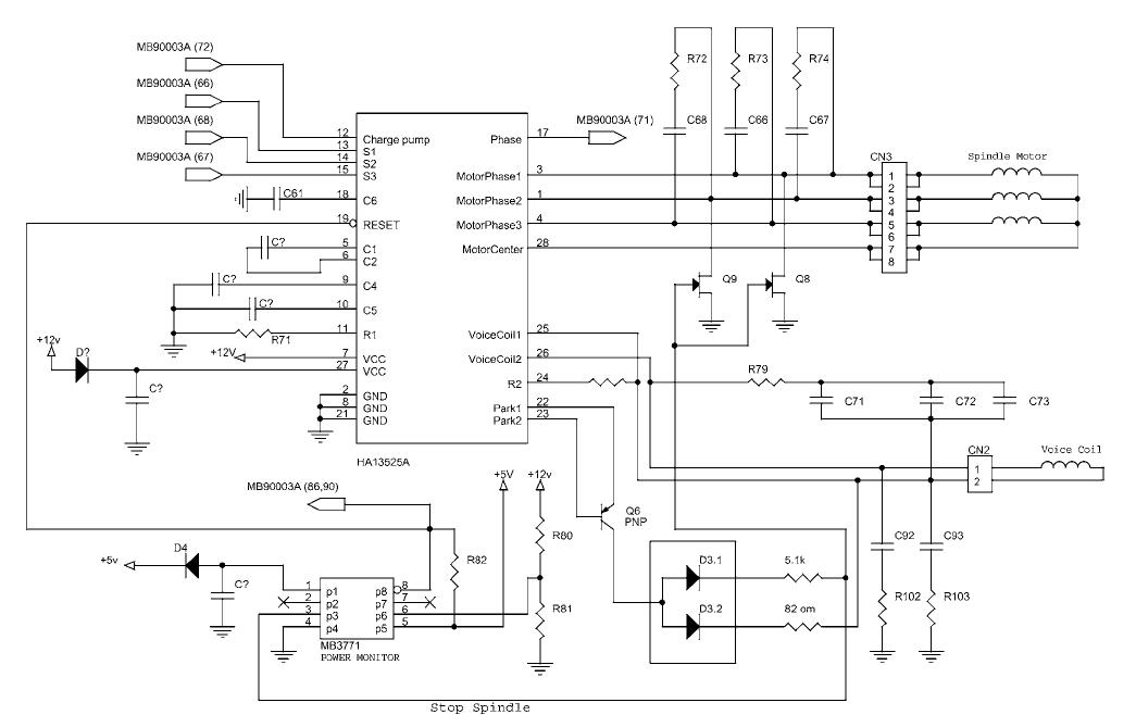 Схема hdd контроллеры