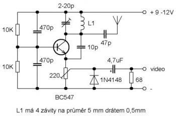 АМ передатчик на 1 транзисторе можно сделать взяв за основу такую схему. естественно изменив номиналы для вашего 25м...