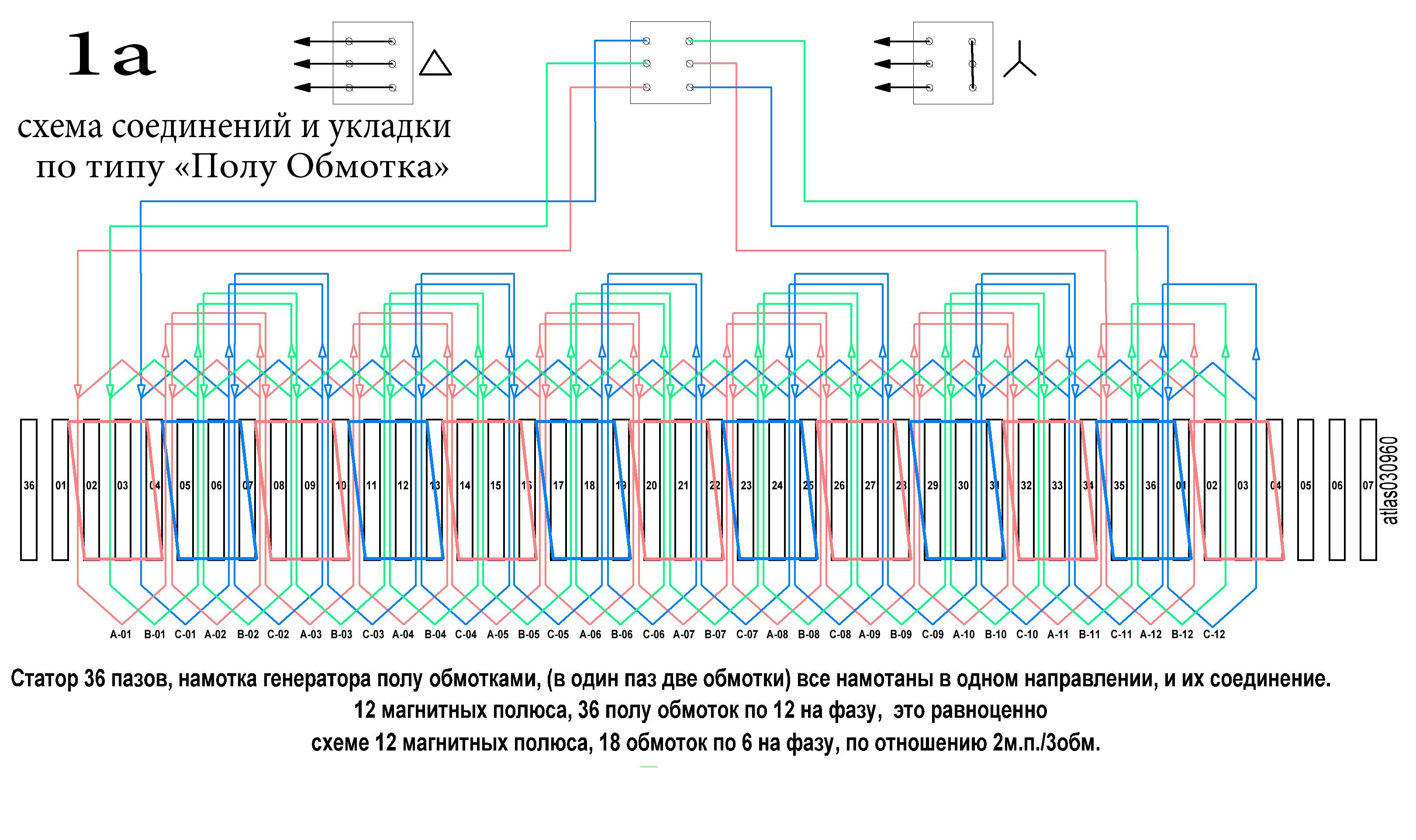 Схема подключения двухскоростного трехфазного двигателя