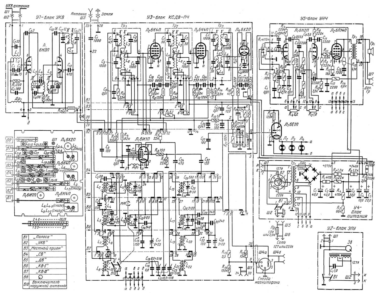 Радиола урал 112 схема