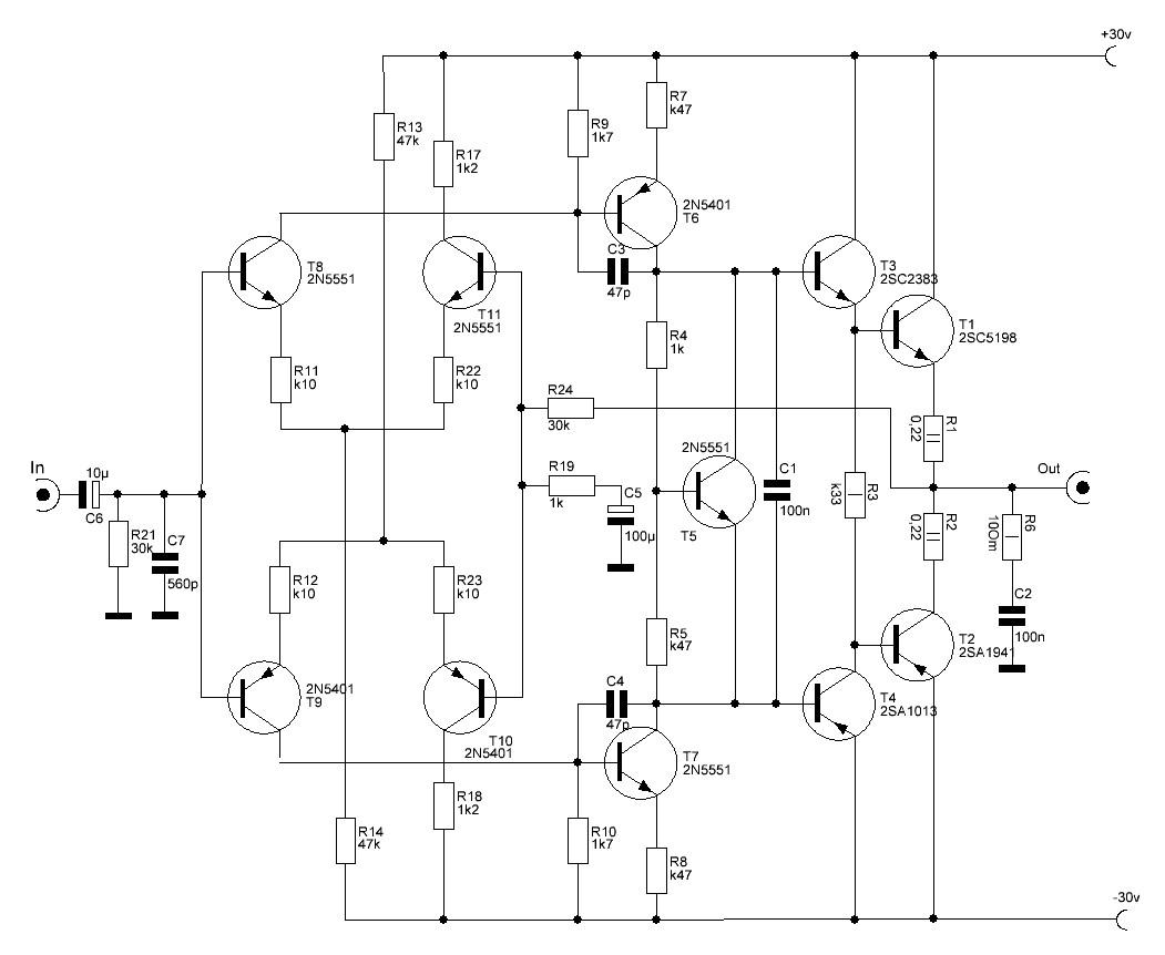 Высококачественный транзисторный усилитель своими руками 77