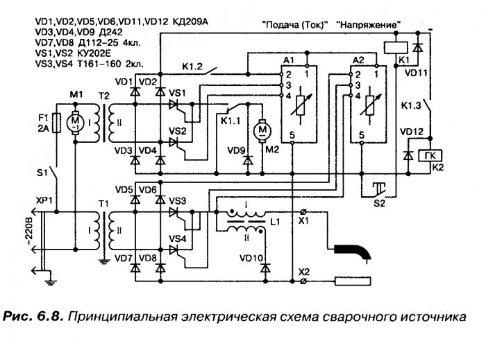 Дуга 318М1 ПРОФЕССИОНАЛ схема