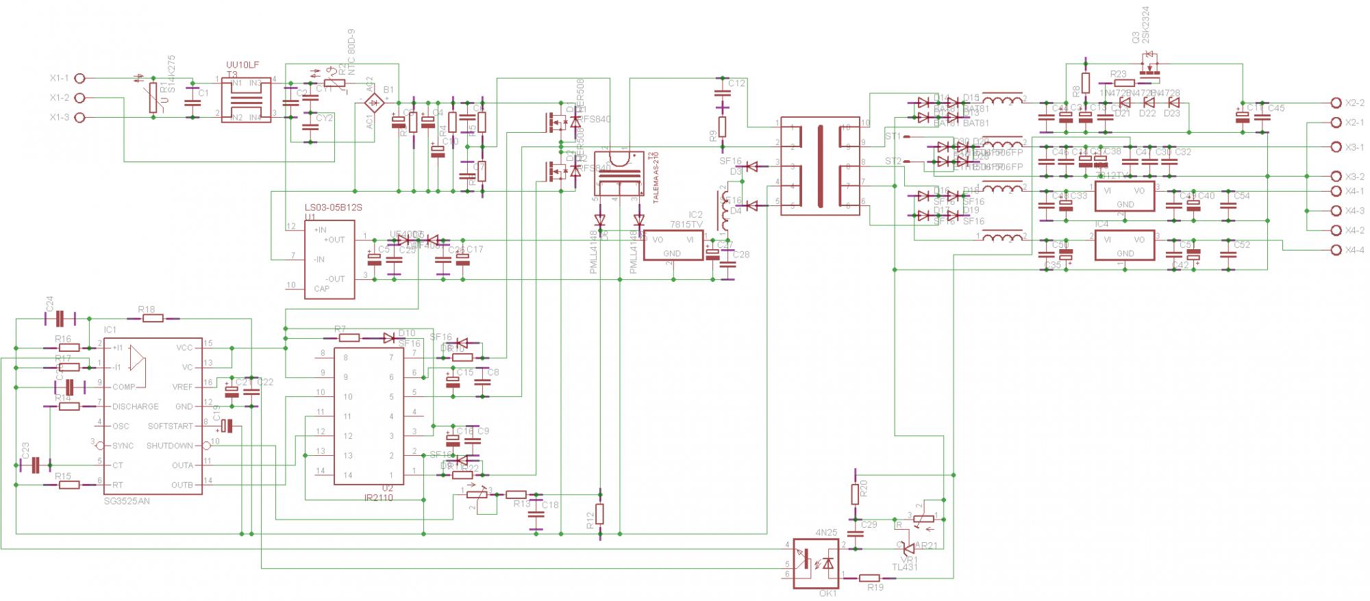 подключение счетчика 220в схема самой простой