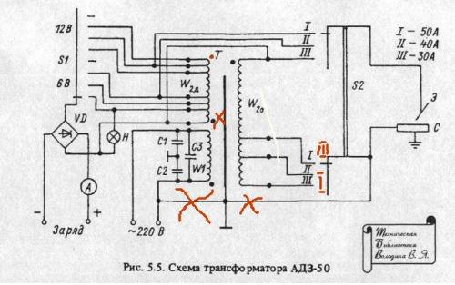 Зарядно-сварочный аппарат своими руками