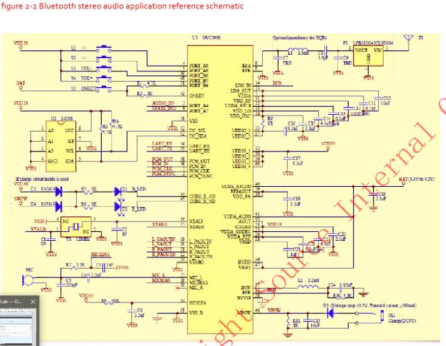 Схема для блютуз наушника